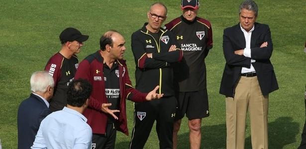 Ricardo Gomes comandará pela primeira vez o São Paulo