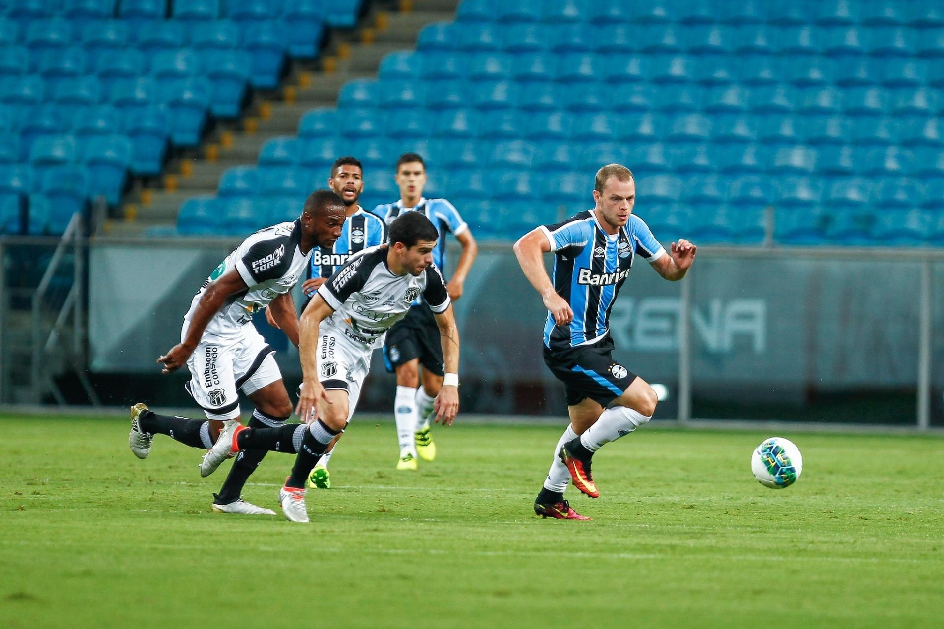 3dcdda0a2b Grêmio B busca empate contra o Ceará e se mantém vivo na Primeira Liga -  02 03 2017 - UOL Esporte