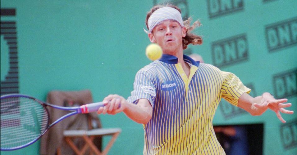 Gustavo Kuerten em Roland Garros em 1997