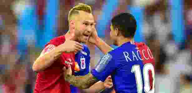 Alemão fez o cruzamento para o gol contra do CRB que recolocou o Paraná na elite - Jason Silva/AGIF