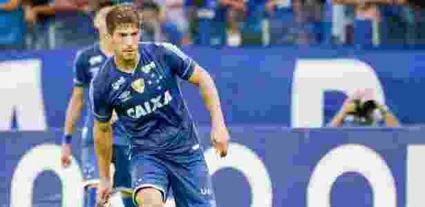 Lucas Silva, volante do Cruzeiro; jogador interessa ao Celta de Vigo no mercado - Washington Alves/Light Press/Cruzeiro