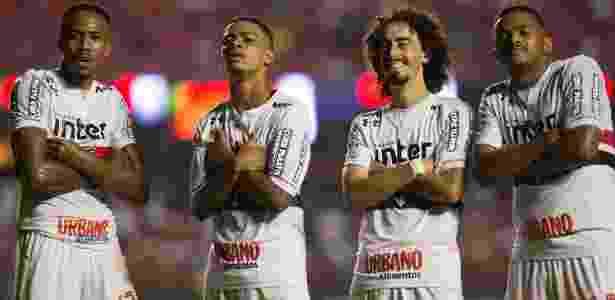 Valdívia e Militão aproveitaram mobilidade do São Paulo para marcar contra o CRB - Daniel Vorley/AGIF