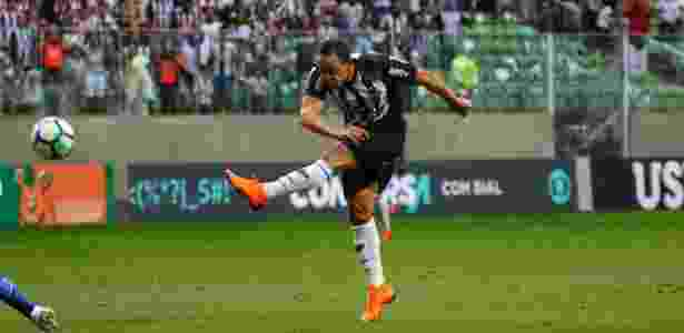 Atacante Ricardo Oliveira perdeu boas chances e andou devendo nas últimas partidas - Pedro Souza/Atlético-MG