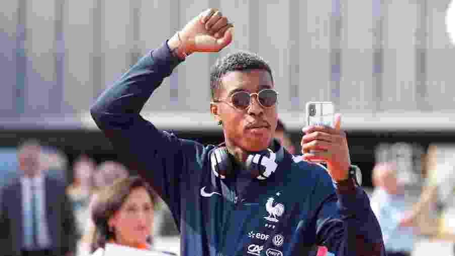 O zagueiro Presnel Kimpembe, do PSG e da seleção da França - REUTERS/Pascal Rossignol