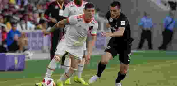 Ronaldo no jogo entre Flamengo e Frankfurt - Alexandre Vidal/Flamengo - Alexandre Vidal/Flamengo