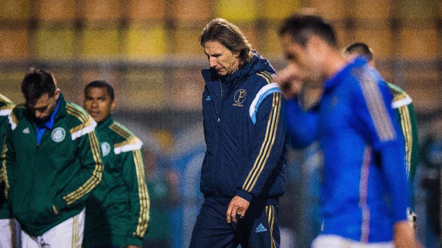 Ricardo Gareca, quando era técnico do Palmeiras - Eduardo Anizelli/Folhapress