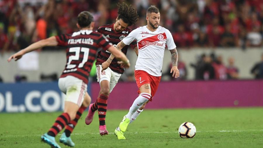 Nico López pode ser atração entre os reservas do Inter contra o Goiás - Ricardo Duarte/Inter