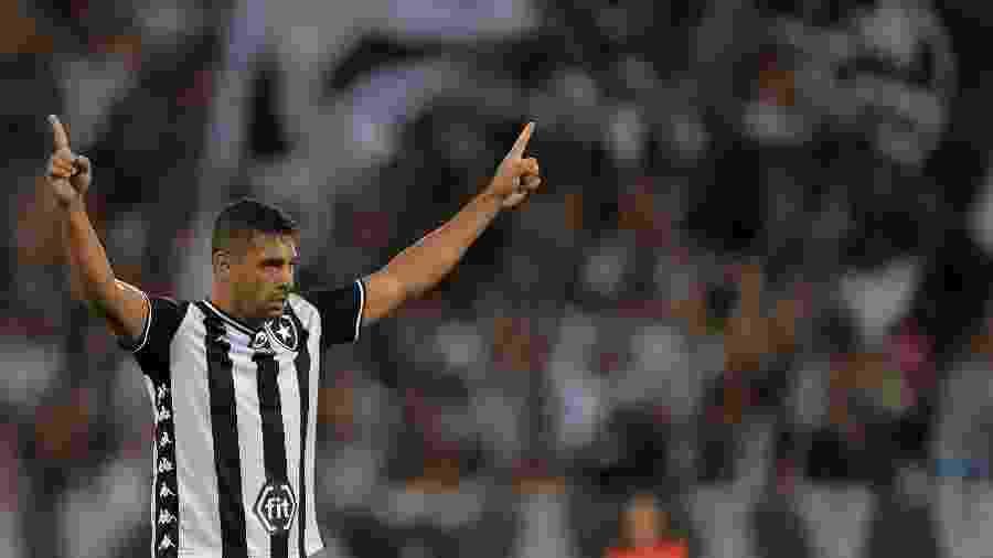 Diego Souza pode retornar ao time do Botafogo contra o Avaí, nesta segunda-feira - Thiago Ribeiro/AGIF