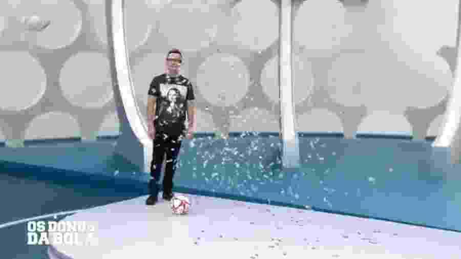 Neto ironiza gol de Lucas Lima - Reprodução/TV Bandeirantes