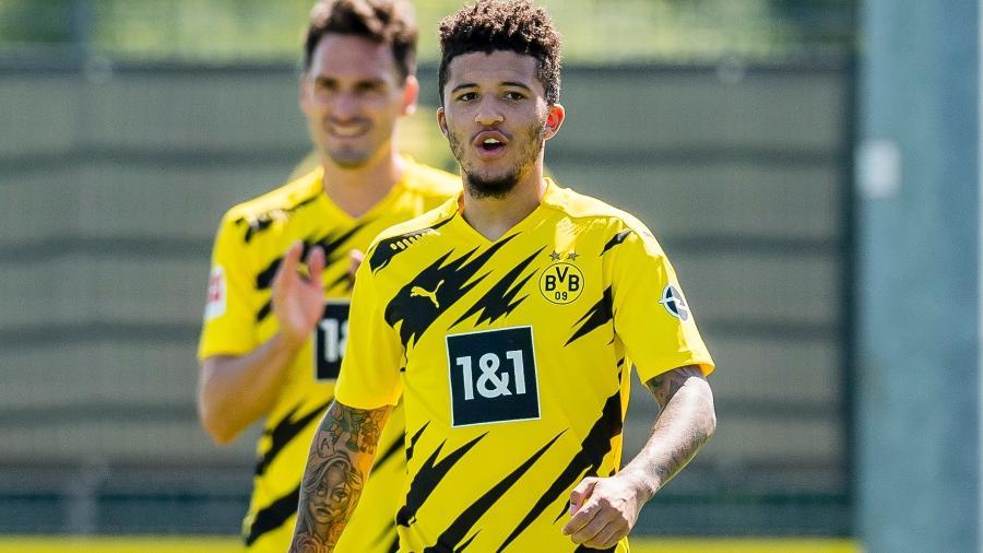 Sancho é objeto de desejo de muitos times ingleses - Alexandre Simoes/Borussia Dortmund via Getty Images