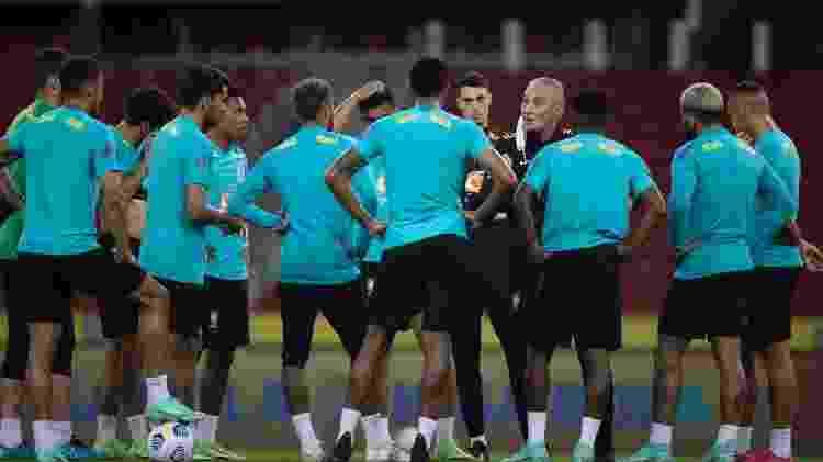 Seleção - Lucas Figueiredo/CBF - Lucas Figueiredo/CBF