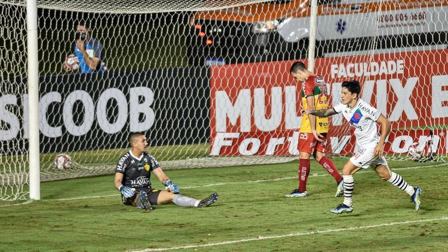 Vasco venceu o Brusque em São Januário em jogo válido pelo primeiro turno da Série B - NAYRA HALM/AGÊNCIA O DIA/AGÊNCIA O DIA/ESTADÃO CONTEÚDO