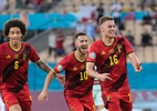 Bélgica vence com gol de Thorgan Hazard e elimina Portugal na Eurocopa - POOL/AFP via Getty Images