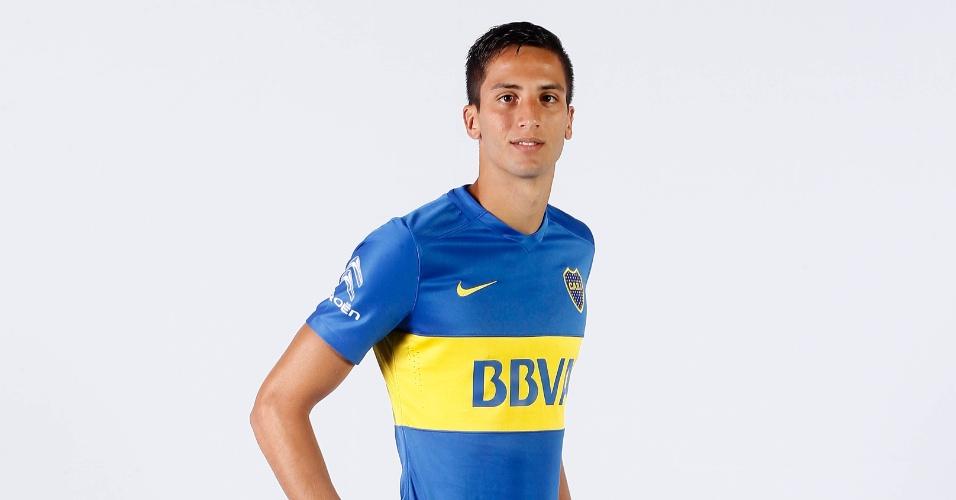 Rodrigo Betancur, meia do Boca Juniors