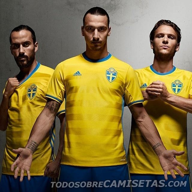 GRUPO E: Suécia (camisa titular, adidas)