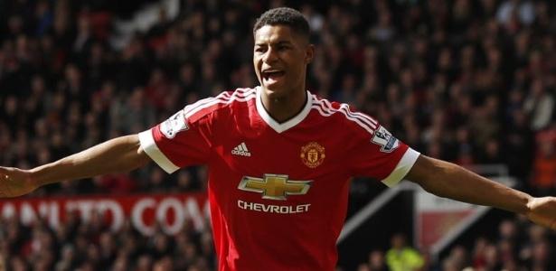 Marcus Rashford ganhou espaço no United após boas atuações com Louis Van Gaal