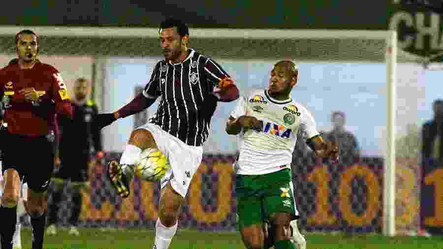 Fred em campo com a camisa do Fluminense - NELSON PEREZ/FLUMINENSE F.C