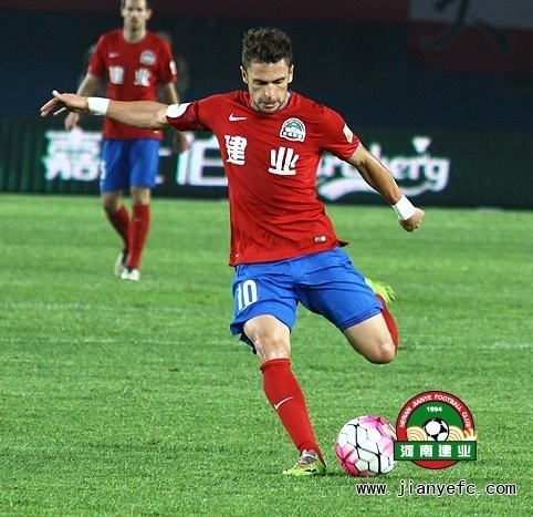 Henan Jianye, time do futebol chinês