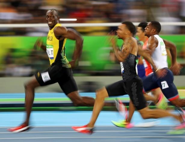 Seria transformador poder ter o mesmo desejo vencer de Usain Bolt - Kai Pfaffenbach/Reuters