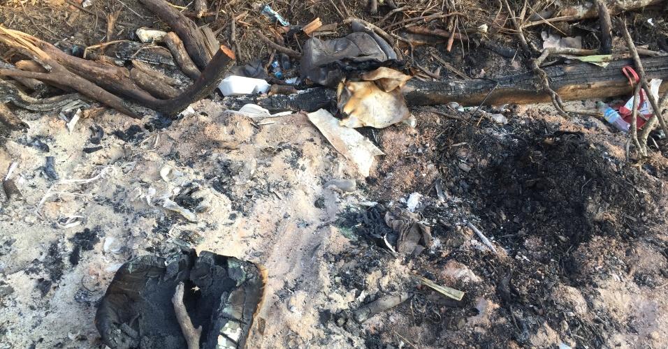 Três meses depois da tragédia que vitimou a delegação da Chapecoense na Colômbia, a reportagem do UOL Esporte revisitou o ponto da queda do avião. Local virou rota de peregrinação