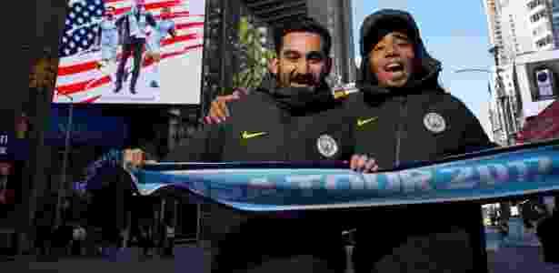 Gabriel Jesus e Gündogan promovem pré-temporada do City nos Estados Unidos - Reprodução