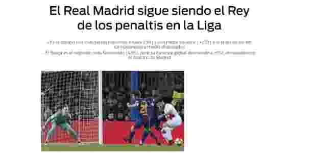 Sport reclama de Real Madrid - Sport/Reprodução - Sport/Reprodução