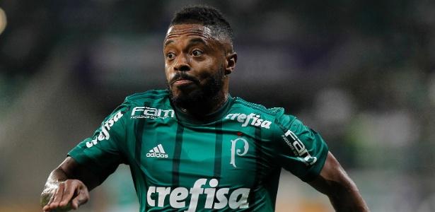 Michel Bastos jogou apenas seis partidas pelo Palmeiras em 2018