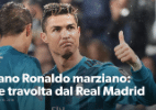 Veja a reação da mídia ao golaço de bicicleta de CR7 - reprodução/Corriere dello Sport