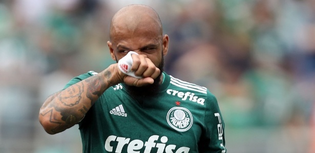 Felipe Melo tem contrato com o Palmeiras até dezembro de 2019