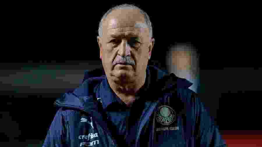 Felipão, em clássico contra o São Paulo pelo Campeonato Brasileiro 2019 - Marcello Zambrana/AGIF