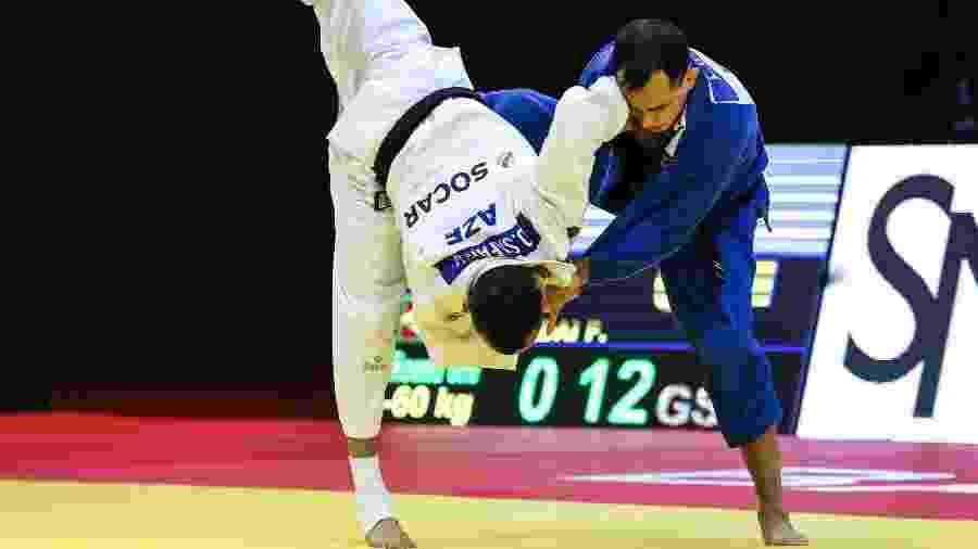 Felipe Kitadai no Grand Slam de Judô em Baku - Divulgação/Federação Internacional de Judô