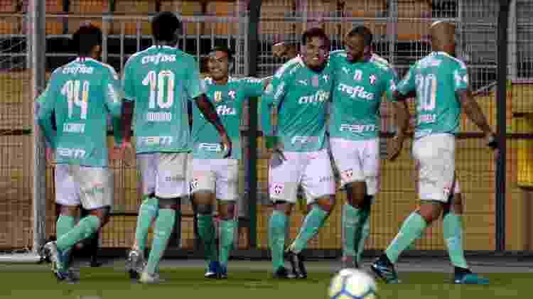 Palmeiras voltou a marcar mais de cinco gols em um jogo oficial depois de sete anos - Bruno Ulivieri/AGIF