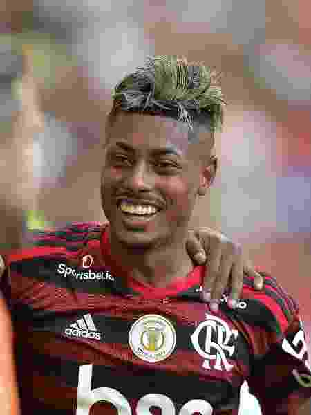 Bruno Henrique foi o destaque da partida entre Flamengo e Corinthians - Thiago Ribeiro/AGIF