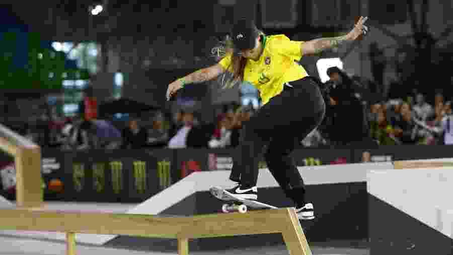 Pâmela Rosa é a skatista número 1 do Brasil na categoria street - REUTERS/Amanda Perobelli
