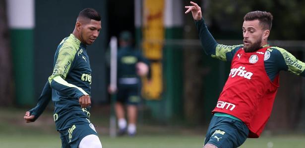 Luxemburgo testa Palmeiras com Rony titular antes de clássico com Santos