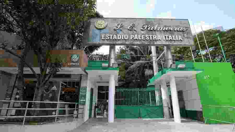 Sede social do Palmeiras - Divulgação/Palmeiras