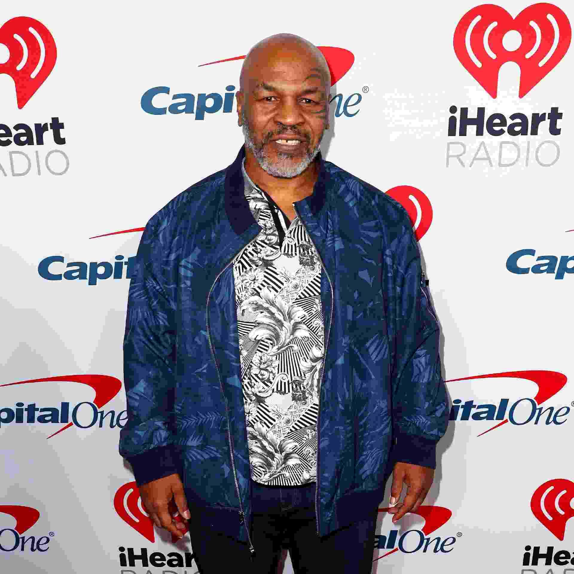 Mike Tyson em evento na iHeartRadio em Burbank, California, em janeiro de 2019 - Joe Scarnici/Getty Images for iHeartMedia