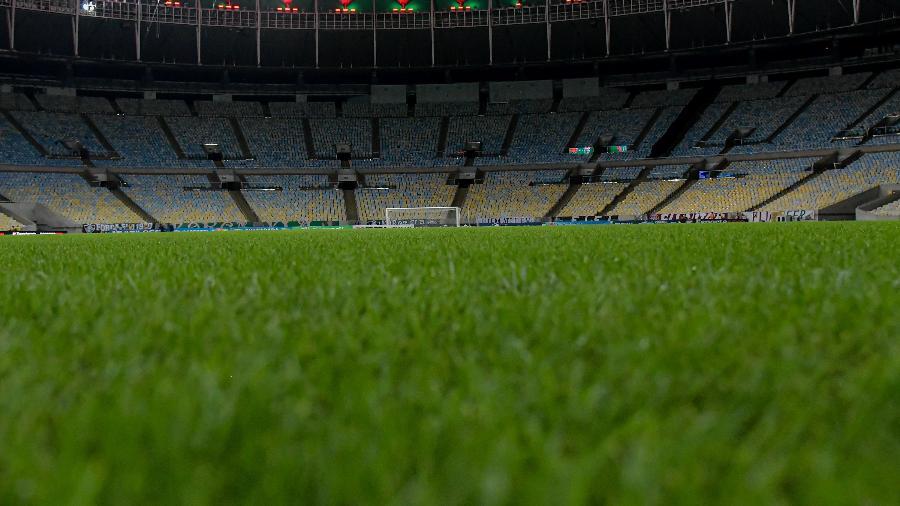Sem torcida, Maracanã recebe nesta quarta a final da Taça Rio entre Fluminense e Flamengo - Thiago Ribeiro/AGIF
