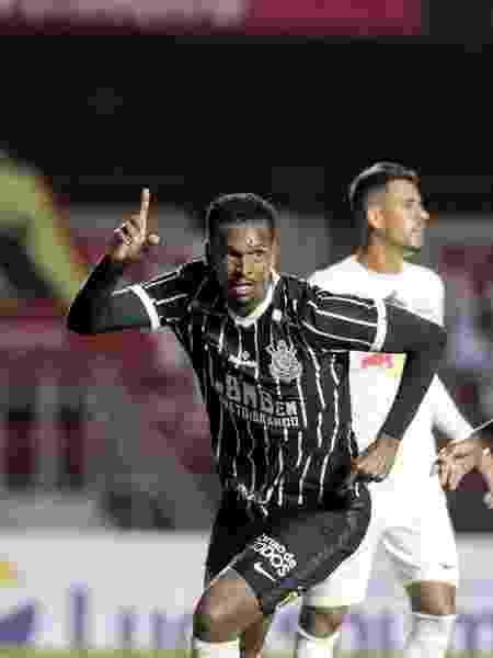 Jô marcou o segundo gol do Corinthians na vitória sobre o Bragantino pelas quartas de final do Paulistão 2020 - Rodrigo Coca/Agência Corinthians
