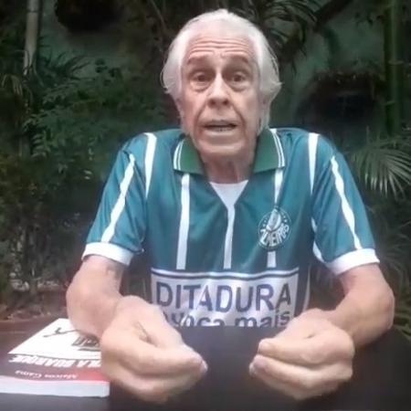 Marcos Gama, um dos fundadores da UVB, grupo político do Palmeiras - Reprodução/Facebook