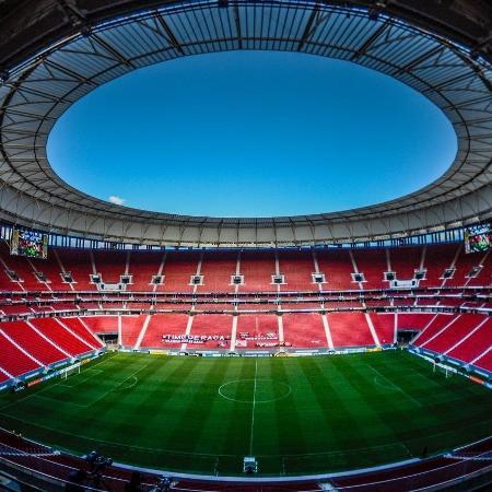 Estádio Mané Garrincha pronto para receber Flamengo x Palmeiras  - Alexandre Vidal/CRF