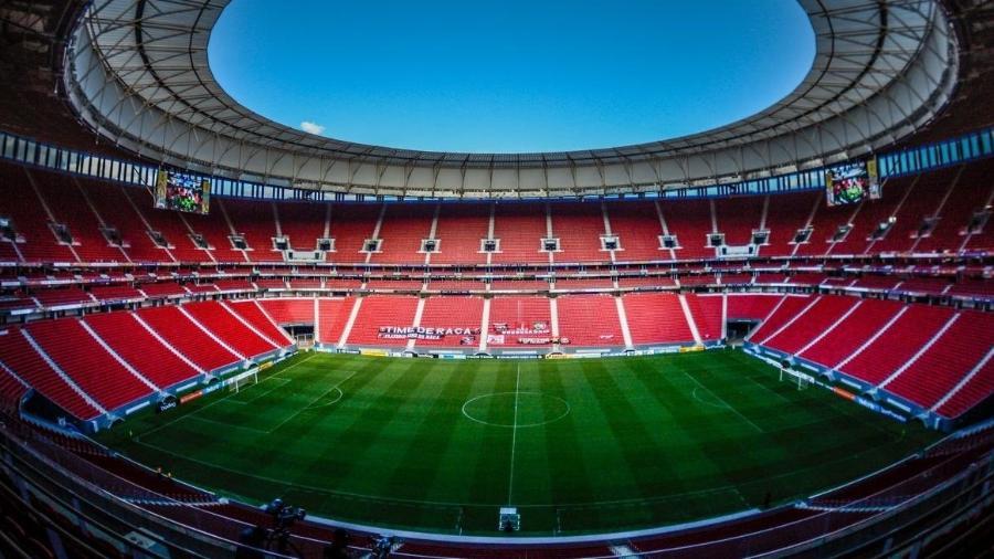 Estádio Mané Garrincha está programado para receber três jogos nos próximos dias - Alexandre Vidal/CRF
