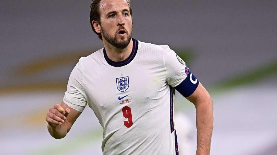 Harry Kane, capitão da seleção da Inglaterra - Getty Images