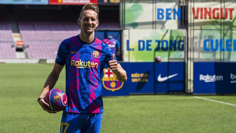 Luuk de Jong, novo atacante do Barcelona - Joan Gosa/Xinhua