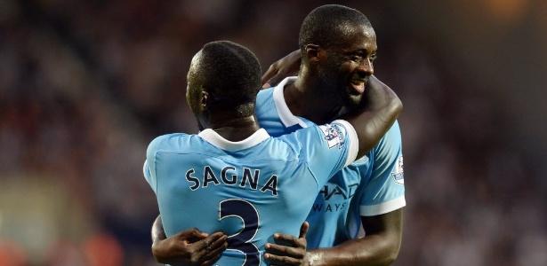 Yaya Touré e Sagna poderão deixar o Manchester City nesta temporada
