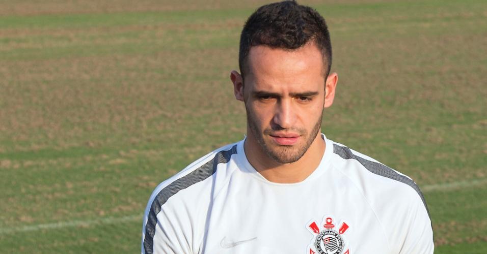 Renato Augusto durante treino do Corinthians