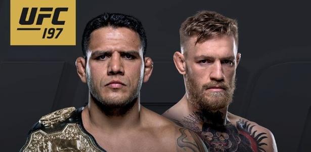 Rafael dos Anjos e Conor McGregor irão se enfrentar no UFC 197 - Divulgação/UFC