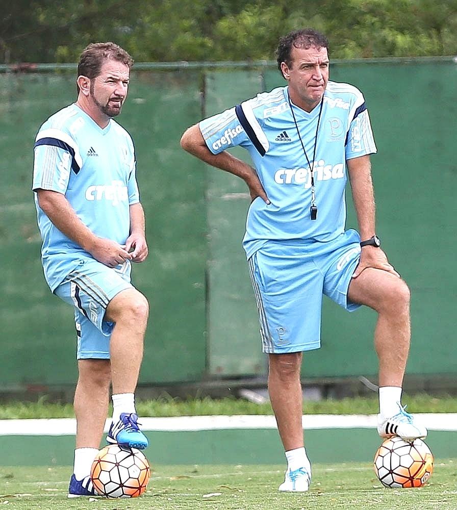 Cuquinha, irmão de Cuca, será um dos auxiliares do time do Palmeiras