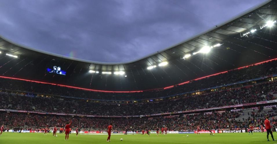 Bayern de Munique e Atlético de Madri se enfrentam pela semifinal da Liga dos Campeões