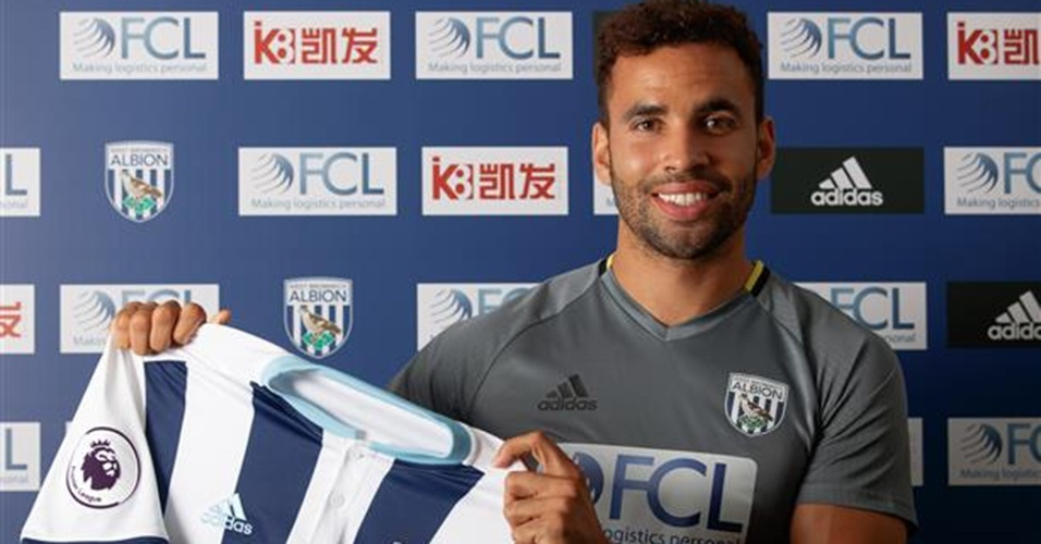Hal Robson-Kanu, atacante do West Bromwich Albion